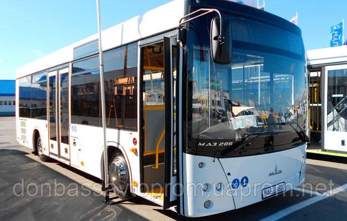 Новый автобус МАЗ 206 063