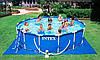 Самая популярная модель каркасного бассейна Интекс 28236