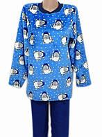 d986df475240 Женская махровая пижама (велсофт) теплая кофта со штанами зимняя