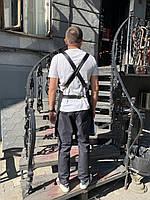 Фартук ( передник ) официанта , бармен  джинсовый черного цвета, фото 6