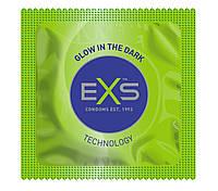 Презервативи що світяться в темряві EXS GLOW THE DARK, 1 шт.