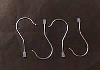Крючок металлический для хангеров с ограничителем., фото 1