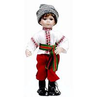 Кукла фарф. Украинец 25 см