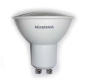 Лампа светодиодная 3.2W GU10 4500K 250Lm 220V, Numina