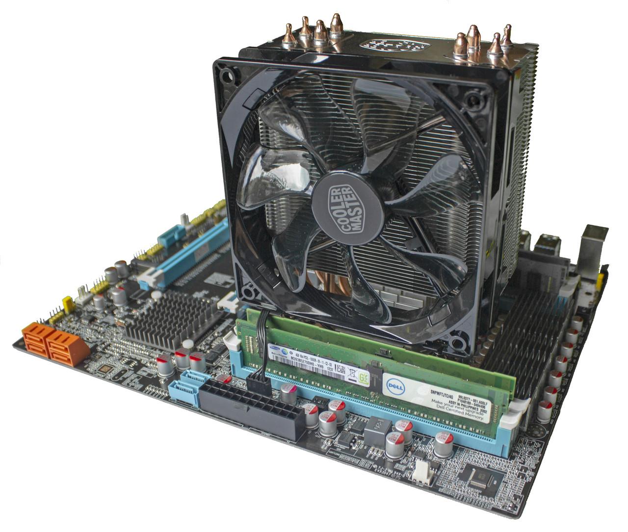 Комплект X79Z-2.4F + Xeon E5-2690 + 16 GB RAM + Кулер, LGA 2011