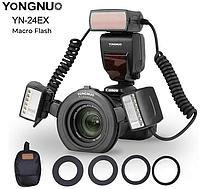 Автоматическая макро вспышка Yongnuo YN-24EX TTL для Canon