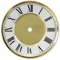 Циферблат для часов металлический,   римский, Yong Town WD 1640/1, внешний диаметр 164 мм