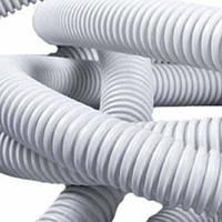 Труба гофра диаметр 32 белая канализационная (20м)