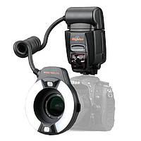 Автоматическая кольцевая макро вспышка MK-14EXT I-TTL для Nikon