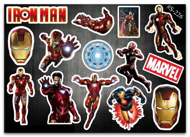 Stickers Pack Iron Man, Marvel #226