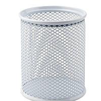 Подставка для ручек AXENT 2110-03 круглая металлическая серебро