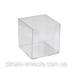 Бокс для бумаги AXENT D4005-27 90 x 90 x 90 мм прозрачный