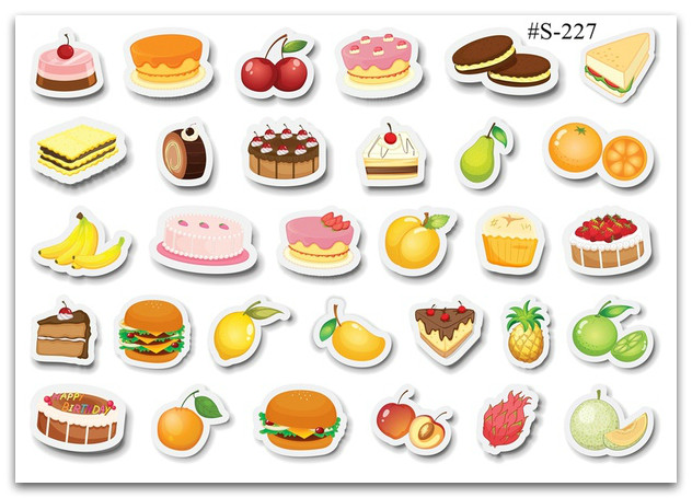 Stickers Pack Вкусняшки, Еда #227