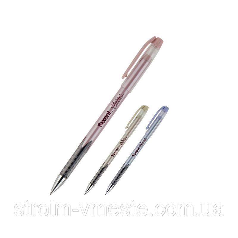 Ручка масляная Shine, синяя AB1063-02-A AXENT