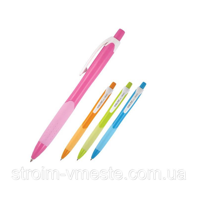 Ручка шариковая  автом. DB 2027, синяя DB2027-02 AXENT