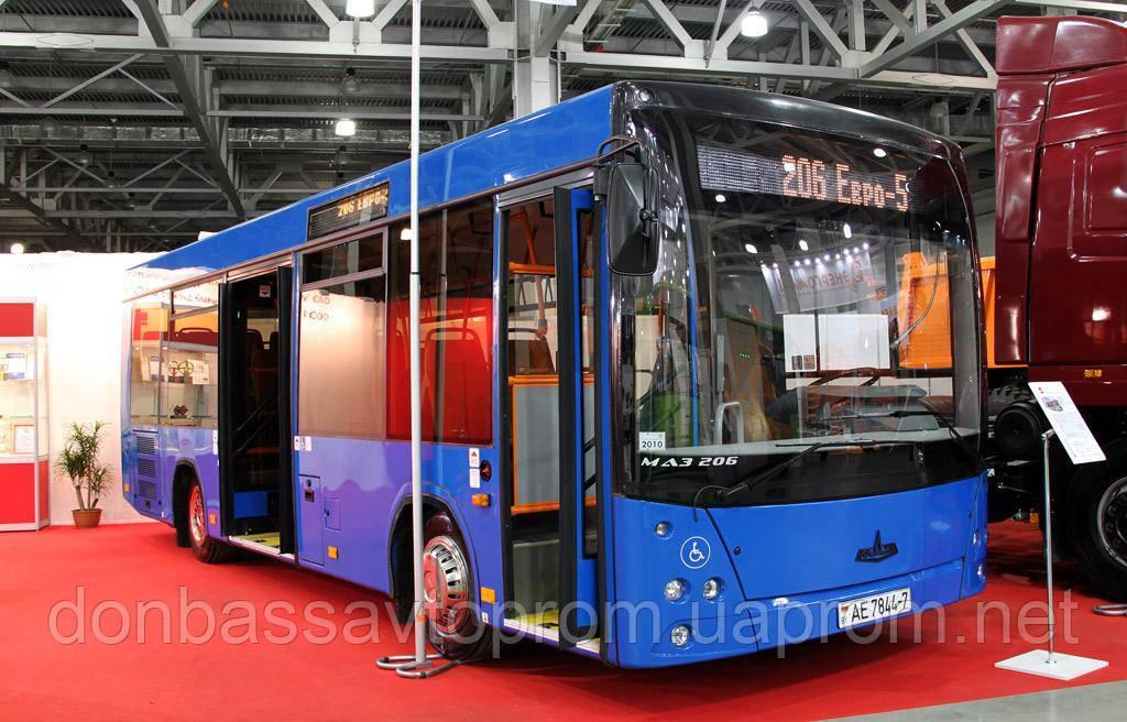Новый автобус МАЗ 206 069