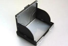 """Защита экрана 3"""" LCD камеры с козырьком и шторками - черный (КОД LC7594)"""
