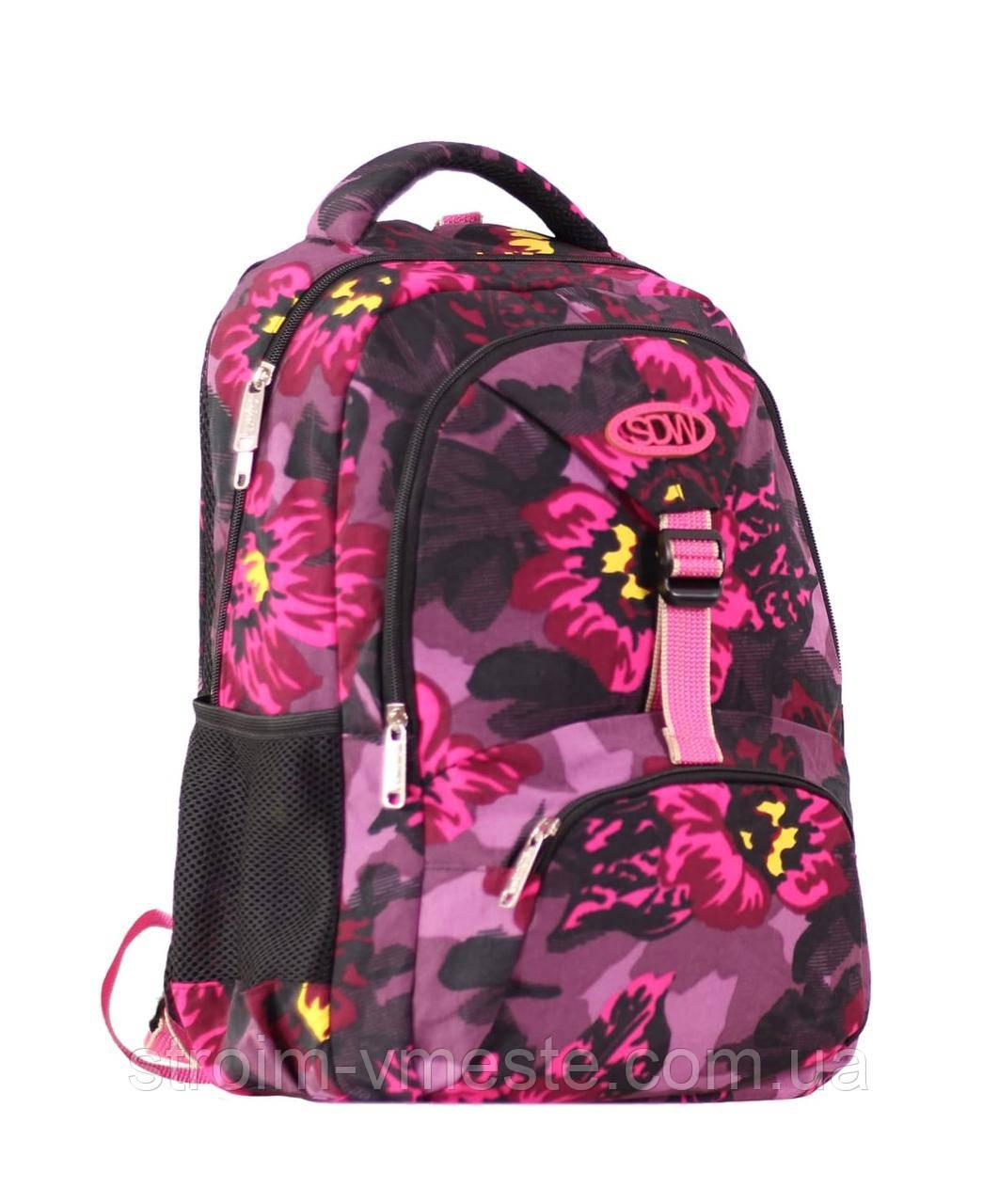 Рюкзак 3 отд 43*27*17 см 900D PL SAFARI Trend 1847