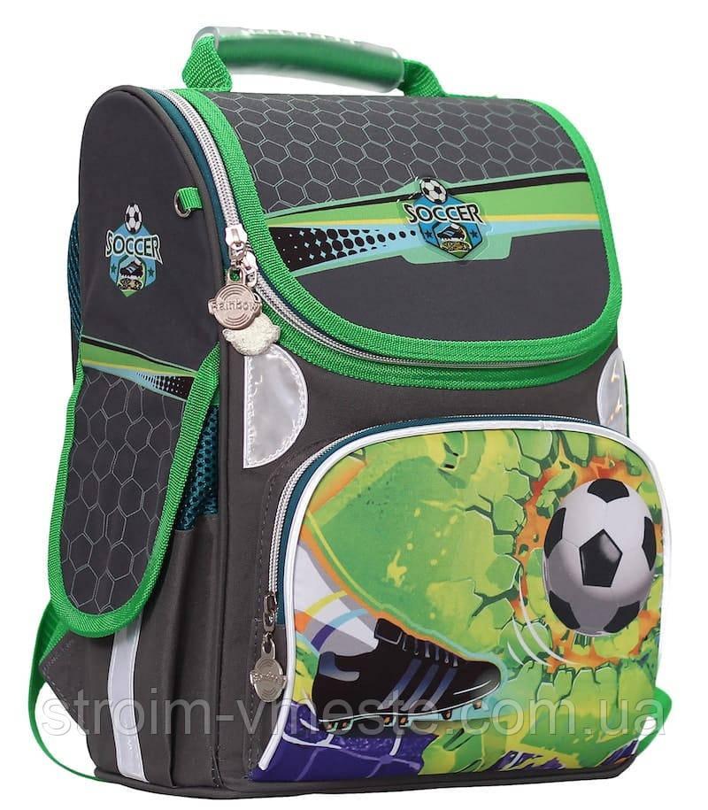 Ранец «Soccer» 2 отд 34*26*13см300D PL RAINBOW 8-517