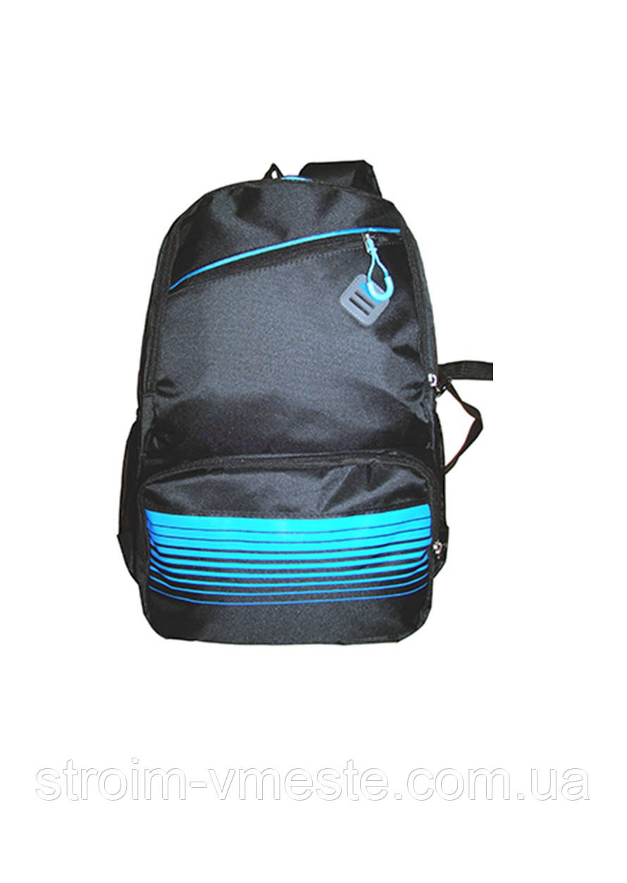 Ранец-рюкзак 2 отд 44*29*20см 300D PL RAINBOW Teens 8-540