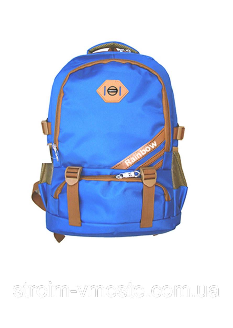Ранец-рюкзак 2 отд 43*29*21см 300D PL RAINBOW Teens 8-542
