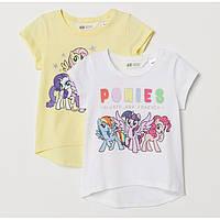 Набір дитячих футболок H&M на зріст 134-140 см