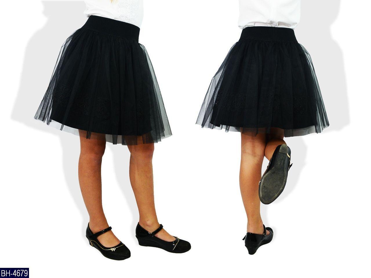Детская юбка для школы на рост 122, 128, 134, 140, 146  Новика 2019 есть цвета