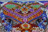 """Набір для вишивання бісером на натуральному художньому холсті """"Чудо Індії"""""""",Abris art, фото 3"""