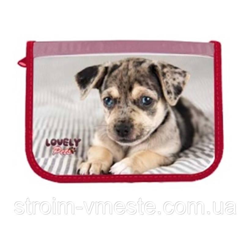 Пенал 1-яр c 1м отворотом с наполнением Lovely Pets CLASS 97237