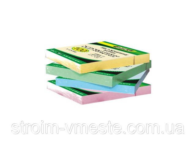 Бумага клейкая 76х76мм 100л цвет в ассортименте 4-423 4Office