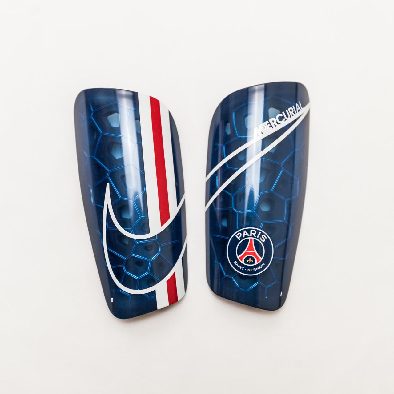 Щитки футбольные Nike PSG Mercurial Lite SP2173-410 Синий Размер XS (193145984233)