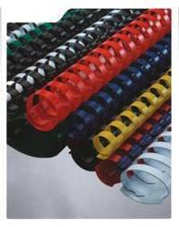 Пружины пластиковые для переплета 8 мм белые