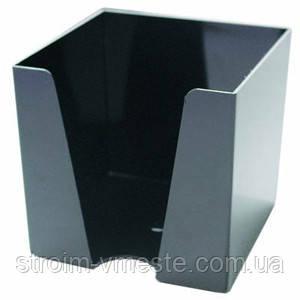 Бокс для бумаги 90 x 90 x 90 мм черный