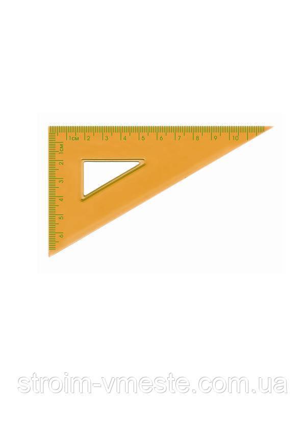 Набор: линейка 15см+2 треугольника+транспортир пластик 9002 Norma