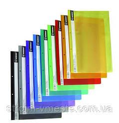 Папка скоросшиватель пластиковая B5 NORMA 5264 РР цвета в ассортименте