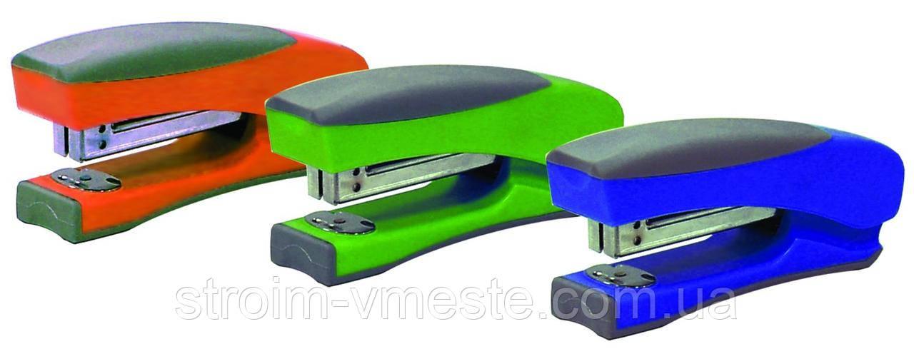 Степлер канцелярський NОRМА 4032 №24/6-№26/6 50 мм 20 л синій