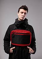 Нагрудная сумка Chest Rig/броник «Stockton» Bad Monkey, цвет красный