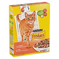 Сухой корм для взрослых кошек Friskies Adult Chicken and Vegetabls 300 г (курица и овощи)