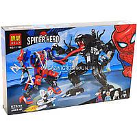Конструктор «Спайдермен» Super Heroes Marvel Comics Человек-Паук против Венома 625 детали, фото 1