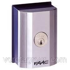 Ключ-выключатель FAAC (накладной) - Ворота Груп - Все для Ворот и Автоматики в Харькове