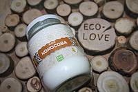 Кокосовое масло нерафинированное, Эколия, 450 мл