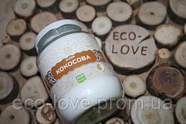 Кокосова олія нерафінована, Эколия, 450 мл