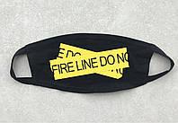"Маска на лицо Off-White ""Fire Line"", фото 1"