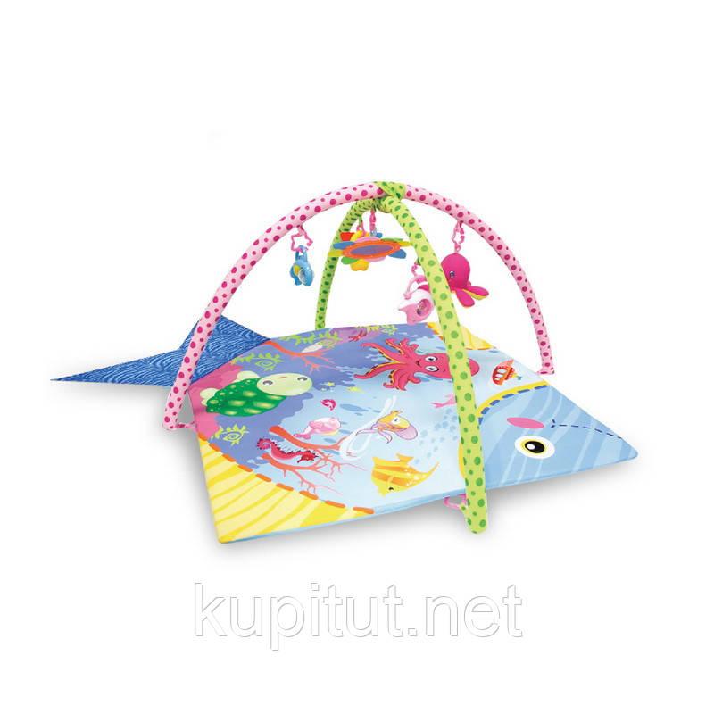 Игровой коврик Lorelli Ocean 115х115 (Океан)