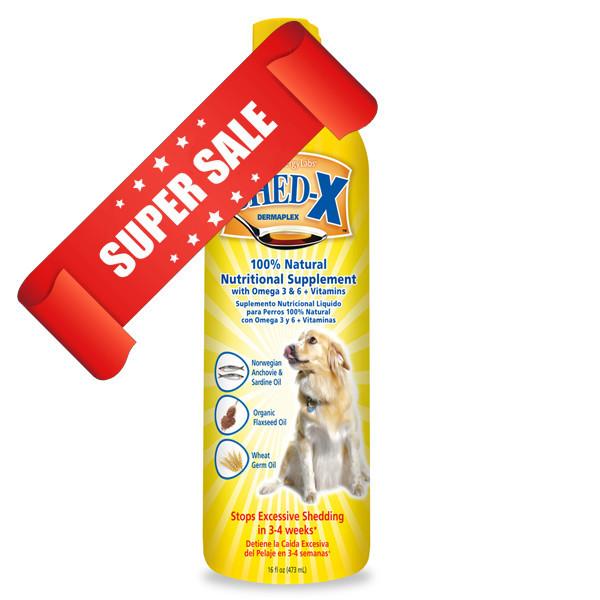 Добавка против линьки собак SynergyLabs Shed-X Dog 473 мл