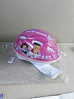 №40. Детский велошлем  Princess Disney Casque de Fille, Rose 54-56 см, фото 1