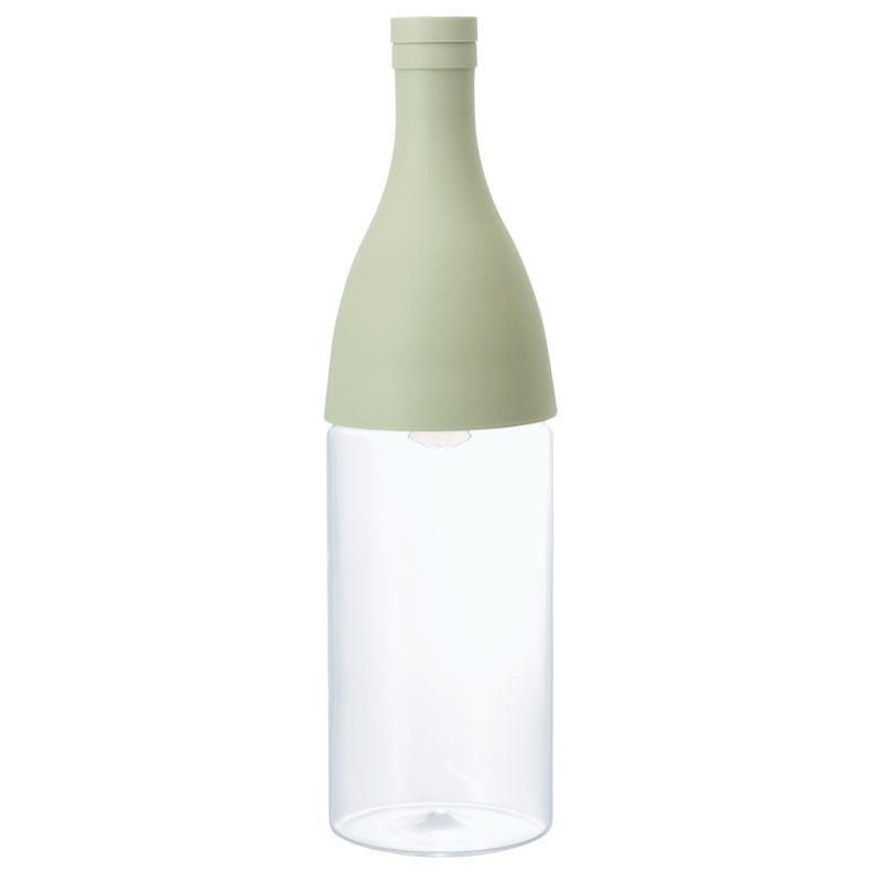 Бутылка-заварник Hario Aisne для горячего и холодного чая, зеленая (800 мл)