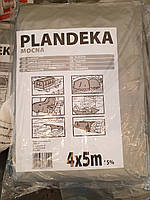 Тент Тарпаулин Tenexim Plandeka Mocna 120 г/м2, полипропиленовый, 4х5м, фото 1