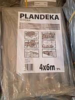 Тент Тарпаулин Tenexim Plandeka Mocna 120 г/м2, полипропиленовый, 4х6м