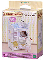 Sylvanian Families Triple Bunk Beds Сильваниан Фемелис Трехъярусная кровать для малышей